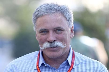 Formula One chairman and chief executive Chase Carey. Photo: AFP