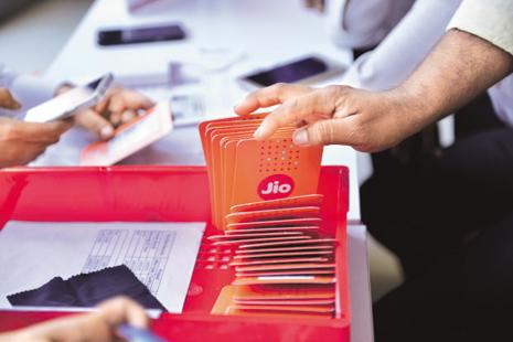 Investors on Wednesday cheered Reliance Jio's decision to charge customers propelling RIL shares to their highest level in almost eight years. Photo: Aniruddha Chowdhury/Mint