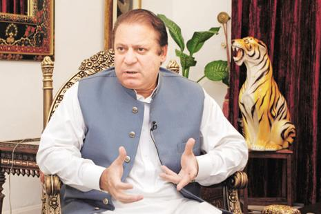 Pakistan Prime Minister Nawaz Sharif had long rejected the use of paramilitary to counter Islamist groups because of the opposition among his party's Islamist supporters. Photo: Bloomberg