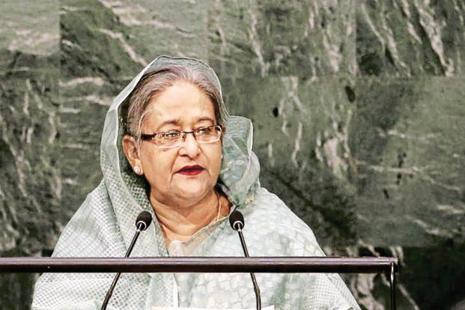 Bangladesh PM Sheikh Hasina. Photo: Reuters
