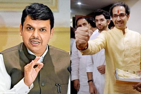 The Mahahashtra municipal election results is a shot in the arm for chief minister Devendra Fadnavis, as it showed he overcame personal attacks from Shiv Sena's Uddhav Thackeray and focused on the promise of development and good governance. Photos: PTI