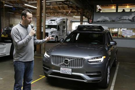 Uber CEO Travis Kalanick once said  about Anthony Levandowski, 'I feel like we're brothers from another mother'. Photo: AP