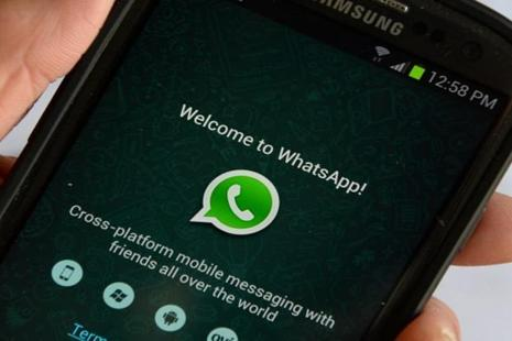 Of Whatsapp's over one billion users, about 200 million are in India. Photo: AFP