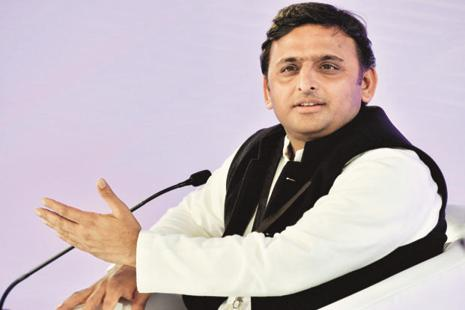 A file photo of UP chief minister Akhilesh Yadav. Photo: Hindustan Times