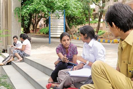 The HRD ministry has stressed the need to have a mechanism for online registration as well as disposal of the grievances in around 10,000 engineering colleges in the country. Photo: Hemant Mishra/Mint