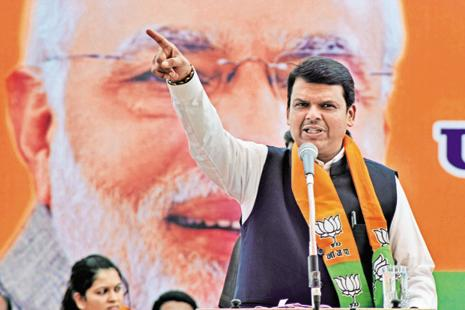 Most political functionaries including some in the BJP considered Devendra Fadnavis a 'Modi-appointee' who lacked popular support, seniority and authority as the chief minister of a big state like Maharashtra. Photo: PTI