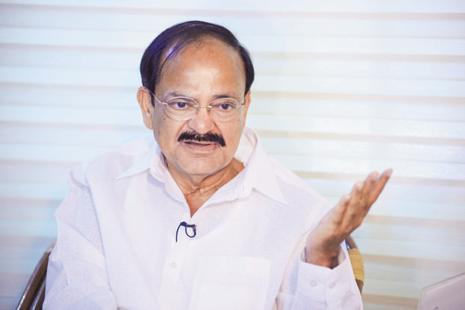 Union minister Venkaiah Naidu said he spoke to his external affairs minister Sushma Swaraj, who gave appropriate directions to the Indian High Commission. Photo: Pradeep Gaur/Mint