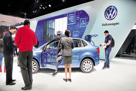 In January 2015, Volkswagen had announced investment of €30 million on Indian specific diesel engine and tooling. Photo: Ramesh Pathania/Mint