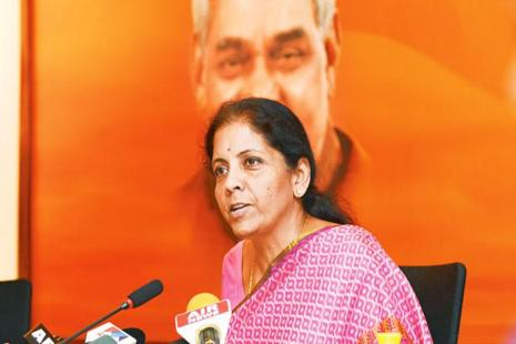 Commerce minister Nirmala Sitharaman. Photo: Ramesh Pathania/Mint