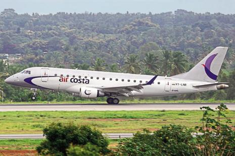 Prior to suspending its flight services, Air Costa had been operating 16 flights daily to eight destinations.