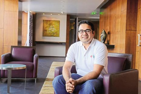 Snapdeal co-founder Kunal Bahl. Alibaba is the largest investor in Paytm and counts SoftBank—the largest investor in Snapdeal—as its top investor. Photo: Hemant Mishra/Mint