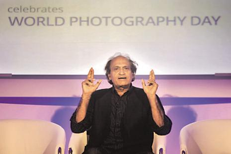 Raghu Rai, who began his career at the age of 23, has been a photographer for over 50 years. File photo: Hindustan Times