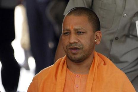 Yogi Adityanath was sworn in as Uttar Pradesh chief minister on Sunday. Photo: Hindustan Times