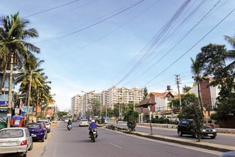 Bengaluru is a bit like Greater Manchester, but with many more people. Photo: Mint