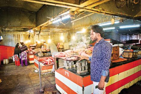Buffalo meat exports dropped 2.4% in the first 10 months of the 2016-17 year, according to government data. Photo: Mint