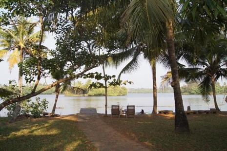 Kakkathuruthu lies next to Vembanad Kayal, Kerala's largest lake. Photographs by Susan Paul