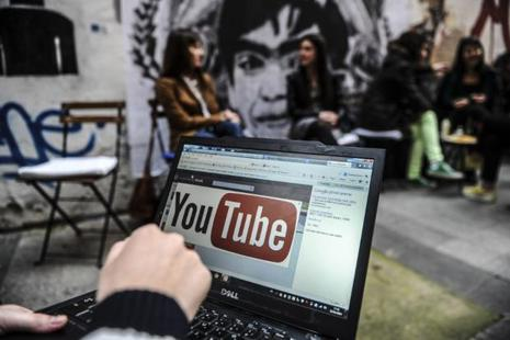 Google depends largely on automated programs to place ads in YouTube videos. Photo: AFP