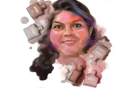 Falguni Nayar. Illustration: Jayachandran/Mint