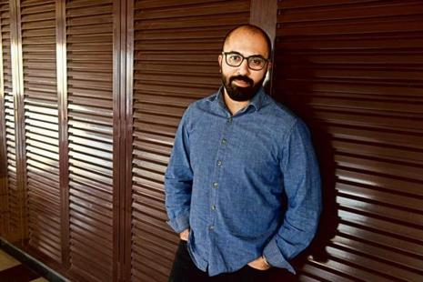 Ritesh Batra in Mumbai. Photo: Abhijit Bhatlekar/Mint.