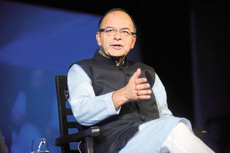 Arun Jaitley pointed out that India was at a 'critical juncture' with challenges like pulling out 25-30% of population from below the poverty line, urbanization, creation of physical infrastructure across the country. Photo: Mint