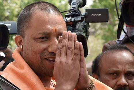 A file photo of Uttar Pradesh chief minister Yogi Adityanath. Photo: PTI