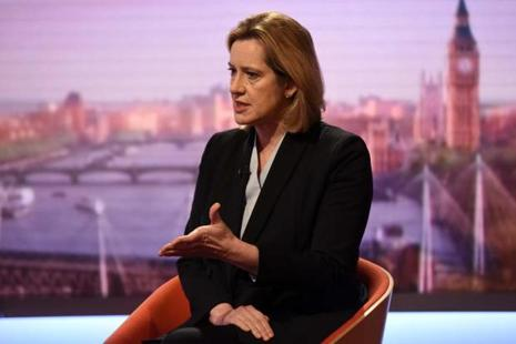 Home secretary Amber Rudd told Sky News it was completely unacceptable that police and security services had not been able to crack the heavily encrypted Whatsapp service. Photo: Reuters