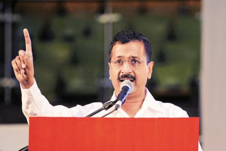 Arvind Kejriwal says the house tax has become a 'major' source of corruption and promised that his party, which is making its civic polls debut, will end it. Photo: AP