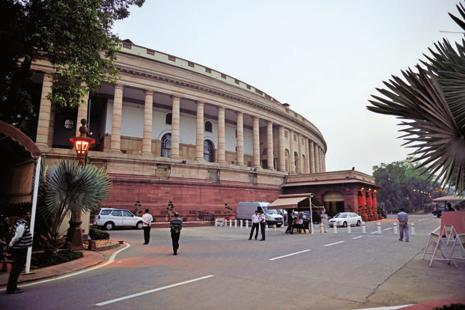 The pending GST bills, to be tabled as money bills, are expected to sail through Parliament; the Rajya Sabha, where the NDA is in a minority, cannot reject a money bill. Photo: Pradeep Gaur/Mint