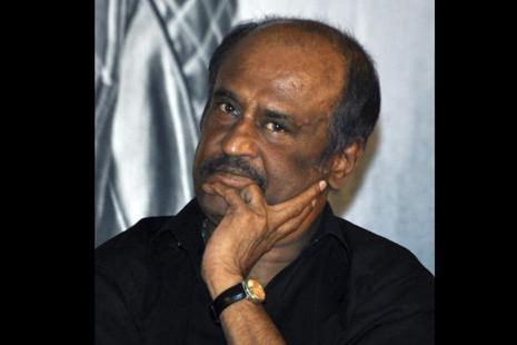 Rajinikanth was scheduled to hand over the homes built by Lyca Group's Gnanam Foundation for displaced Tamils in northern Jaffna on 9-10 April. Photo: AFP