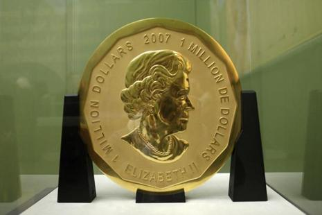 The gold coin, that was stolen from the Bode Museum in Berlin, was featured in Guinness Book of Records for its 'unmatched' degree of purity. Photo: AP