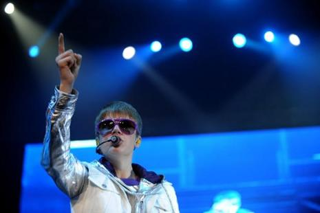 Canadian singer-and-songwriter Justin Bieber. Photo: AFP