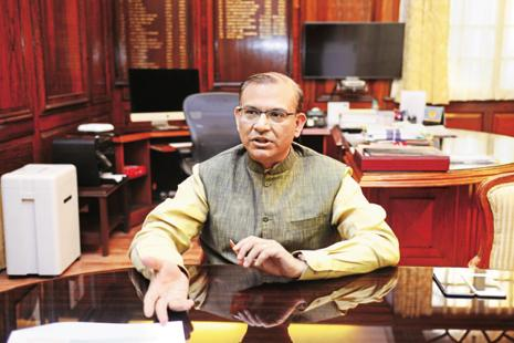 By 2020, India's contribution to global growth, on purchasing power parity basis, will exceed that of China by 60% and that of the US by 180%, says Union minister Jayant Sinha. Photo: Mint