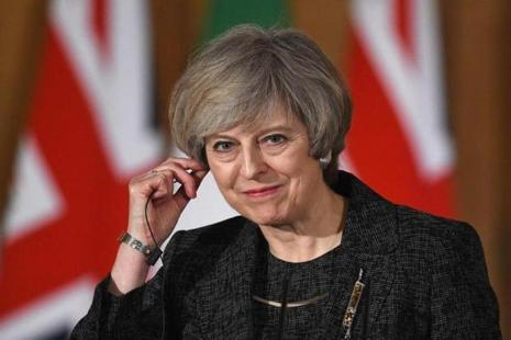 Theresa May has been credited with a deft handling of the economy in the first nine months since the Brexit vote. Photo: Reuters