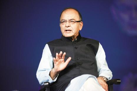 A file photo of finance minister Arun Jaitley. Photo: Abhijit Bhatlekar/Mint