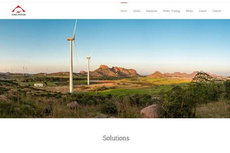 Atria Power runs wind, hydro and solar power projects.