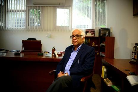 A file photo of Mukul Mudgal, former chief justice of the Punjab and Haryana high court. Photo: Pradeep Gaur/Mint