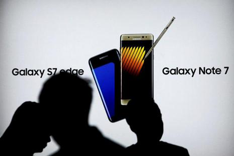 Samsung has collected 97% of its Galaxy Note 7 smartphones and issued a software code that blocks any device in circulation from being recharged at all. Photo: Reuters
