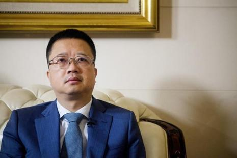A file photo of Fosun CEO Liang Xinjun. Photo: Bloomberg