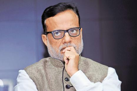 Revenue secretary Hasmukh Adhia. Photo: S. Kumar/Mint