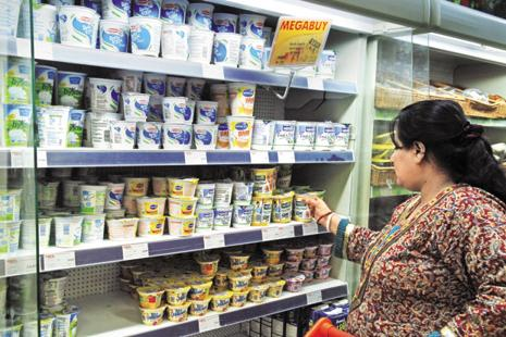 Food accounts for about 70% of India's $600 billion retail market. Photo: Mint