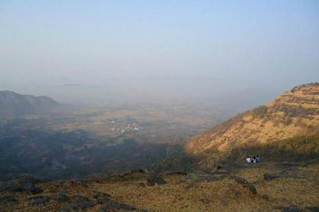 The view from Prabalmachi village. Photo: Amrita Das
