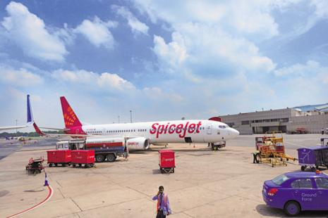 Many airlines like IndiGo, SpiceJet, GoAir and Jet Airways have gone to court against the levy imposed by the government on existing flights to fund UDAN. Photo: Ramesh  Pathania/ Mint