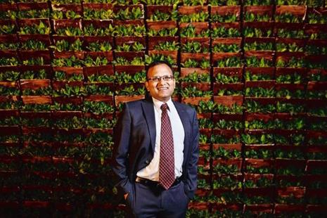 Amplus Energy Solutions' Sanjeev Aggarwal. Photo: Pradeep Gaur/Mint