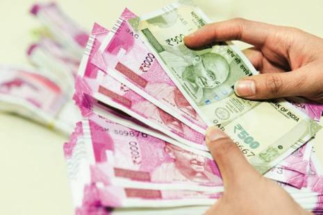 For the full 2016-17, the government had pumped in Rs25,000 crore in the public sector banks. Photo: Hemant Mishra/Mint
