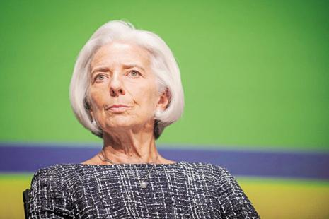 IMF managing director Christine Lagarde. Photo: Bloomberg