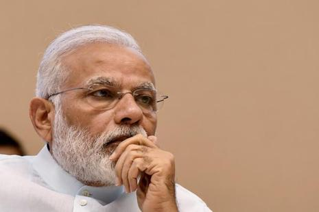 Narendra Modi's intervention comes after students from Jammu and Kashmir were allegedly beaten up in Mewar University in Rajasthan last week. Photo: PTI
