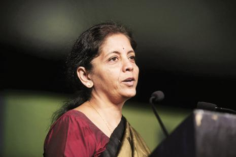 Commerce minister Nirmala Sitharaman on Monday steered clear of the allegations levelled by US against TCS, Infosys and Cognizant of 'unfairly' cornering the lion's share of H-1B visas by putting extra tickets in the visa lottery system. Photo: Abhijit Bhatlekar/Mint
