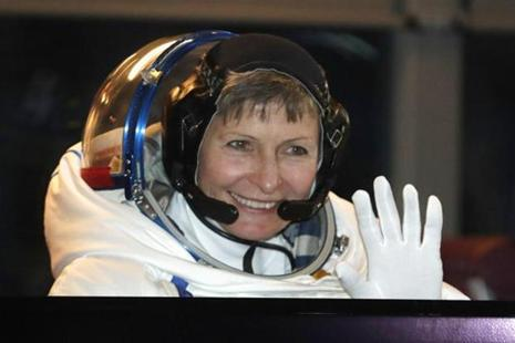 In 2008, Peggy Whitson became the first woman to command the space station, and on April 9 this year became the first woman to command it twice. Photo: AP