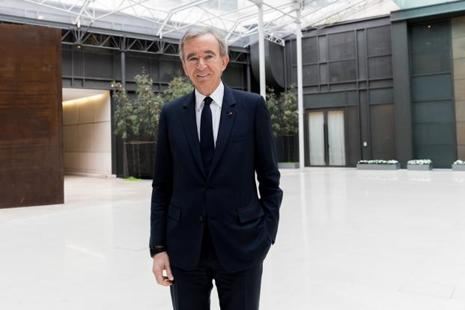 Bernard Arnault has expanded his LVMH empire to include dozens of leading luxury brands. Photo: Christoph Morin/Bloomberg