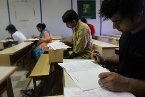 The NET exam happens twice in every year during December-January and June-July. Photo: HT